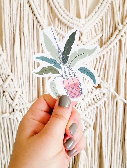 Bird of Paradise- Handmade Plant Sticker
