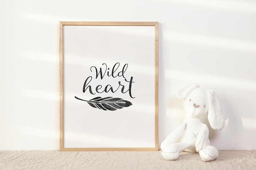 Wild Heart Digital Print