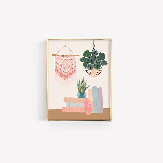 Cute Room Decor Art Print