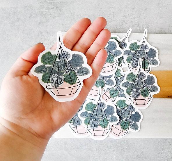 Philodendron - Handmade Plant Sticker
