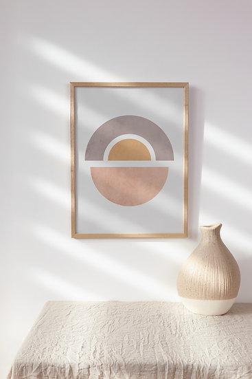 Modern Abstract Digital Print
