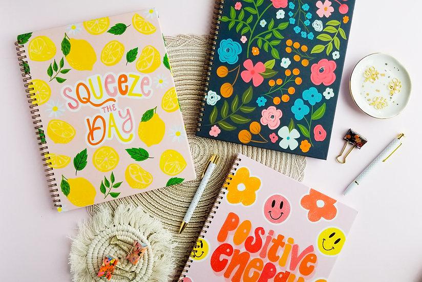 Set of 3 Hardcover Notebooks