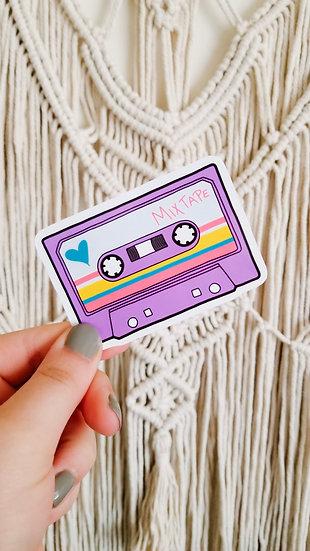 Cassette Tape - 90's Sticker