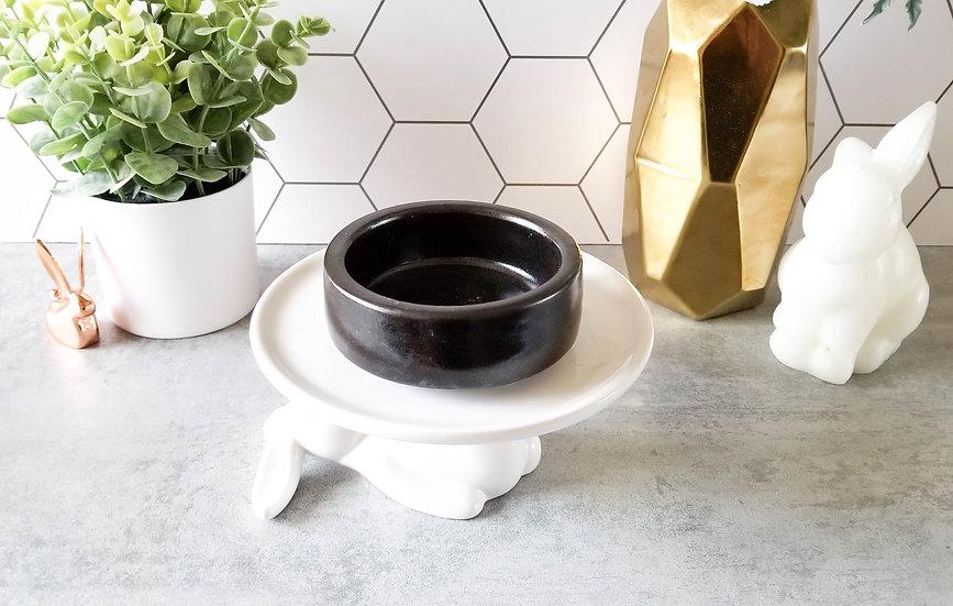 Black Bunny Ceramic Bowl 2