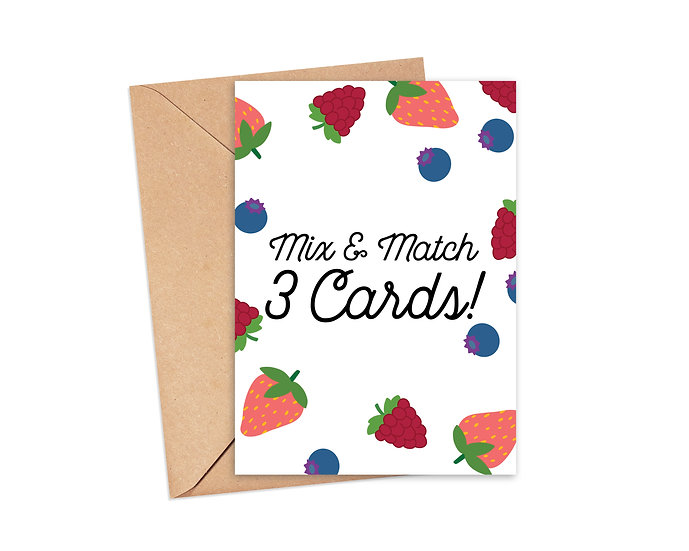 Mix and Match 3 Cards