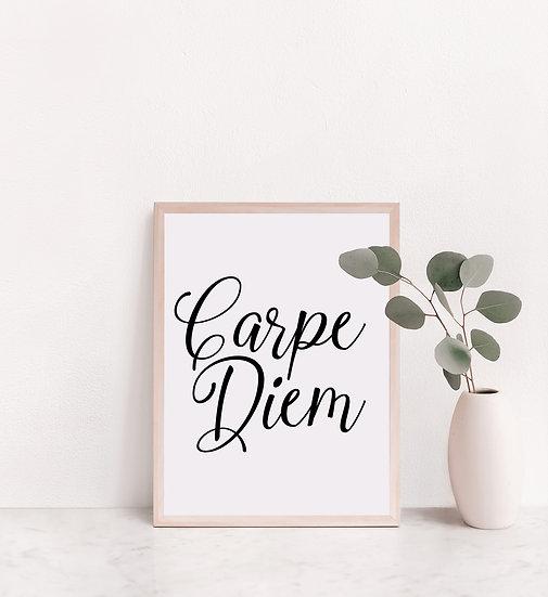 Carpe Diem Digital Print