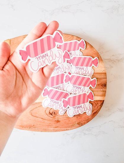 Man Candy  - Handmade Valentine's Sticker