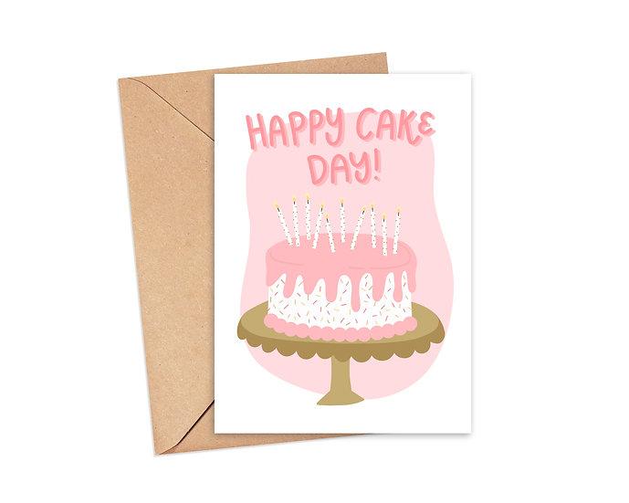Happy Cake Day! - Birthday Greeting Card