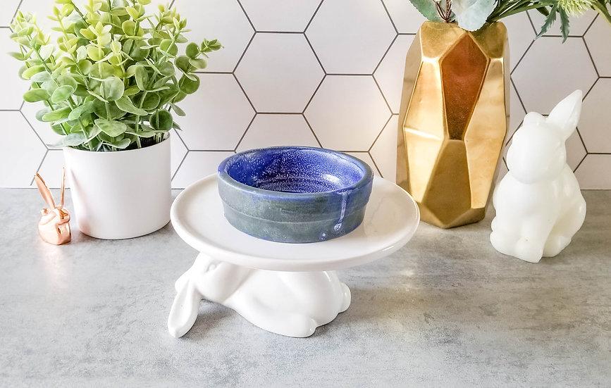 Blue Bunny Ceramic Bowl 2