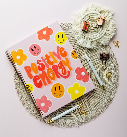 Hardcover Positive Energy Notebook