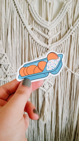 Dunk Snack - 90's Sticker