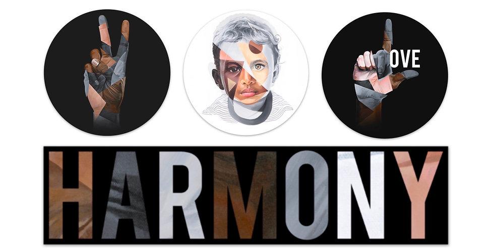 Harmony Sticker Bundle