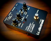 TC Electronic SCF stereo chorus flanger modified modification dc power voodoo audio