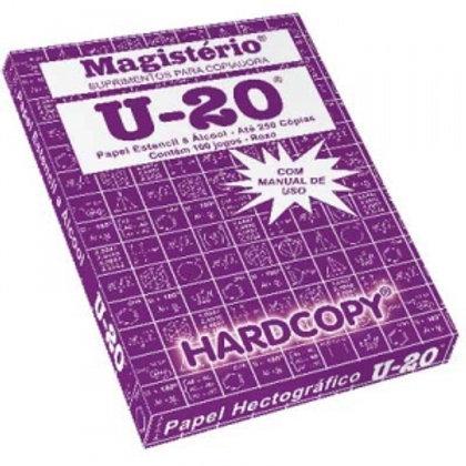Papel hectografico Magisterio U-20 en caja