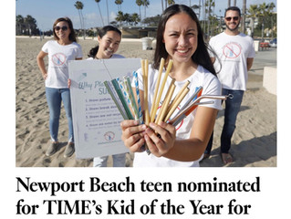 I'm a Finalist for the TIME/Nickelodeon 2020 Kid of the Year!