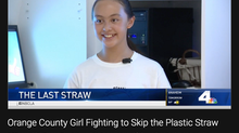NBC Los Angeles Features Skip the Plastic Straw Campaign!
