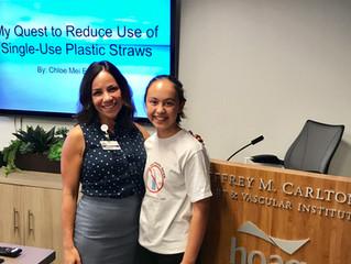 Hoag Invites Skip the Plastic Straw To Present!