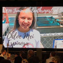 Junior Philanthropist Award 2019 by Pacific Marine Mammal Center