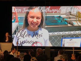 Junior Philanthropist Award 2019 by Pacific Marine Mammal Center
