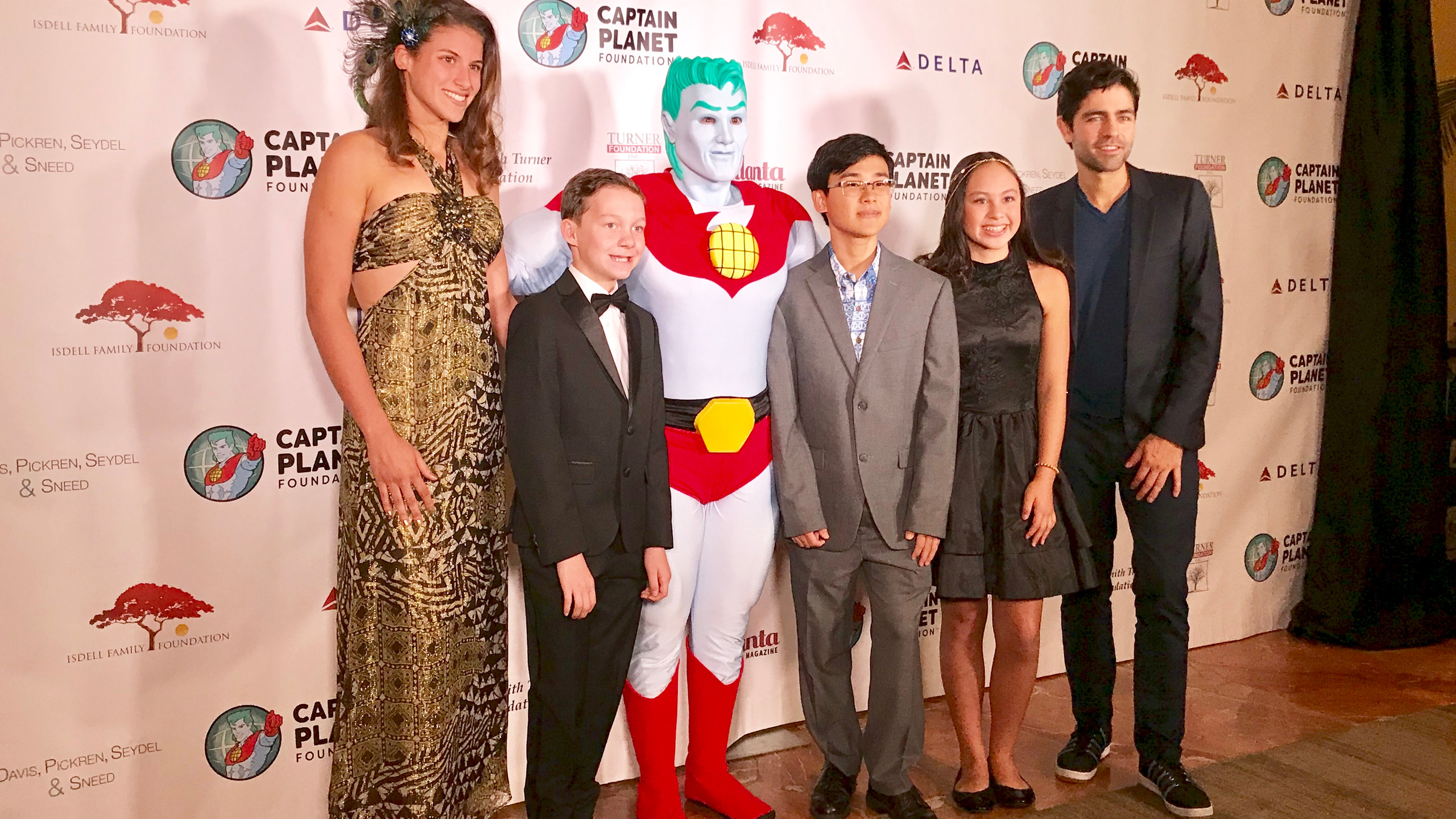 Captain Planet and Awardees