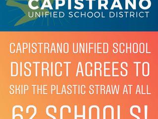 Orange County's Largest School District Skips the Plastic Straw!
