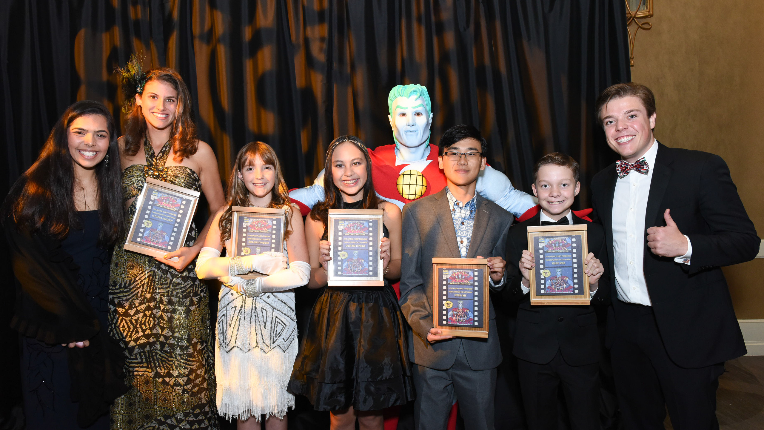 Young Super Hero for Earth Awardees