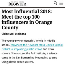 I'm a Top 100 Influencer in Orange County for 2018 & 2020!
