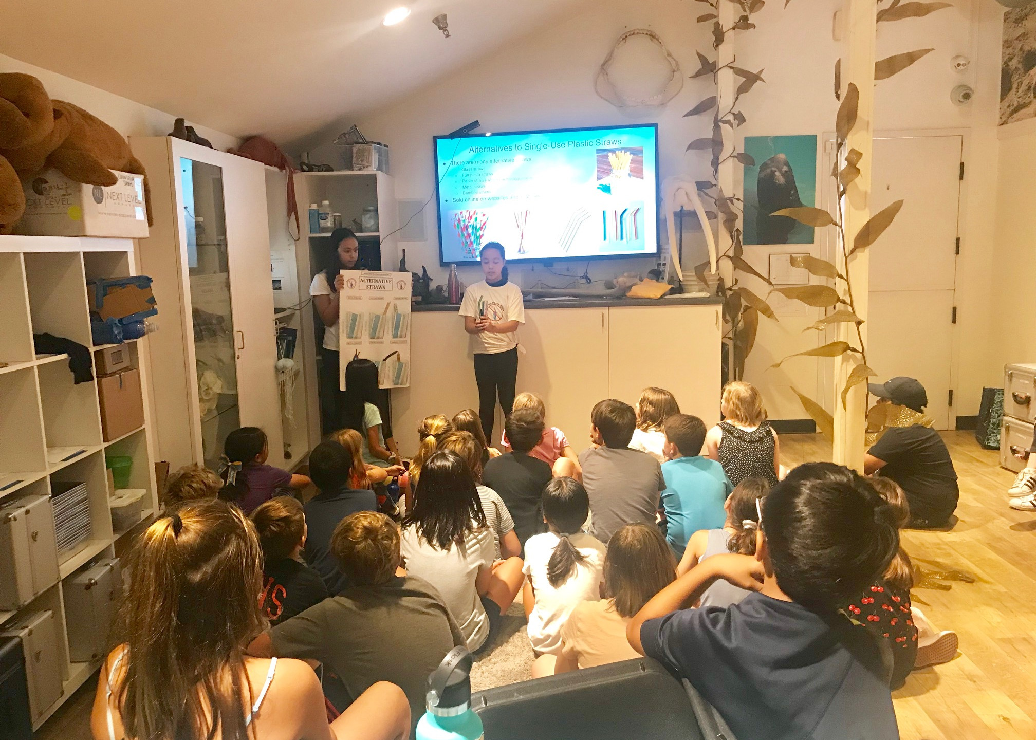 Presenting to campers 2019
