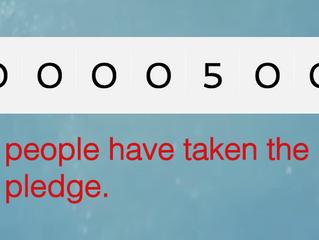 500 Pledges Met!