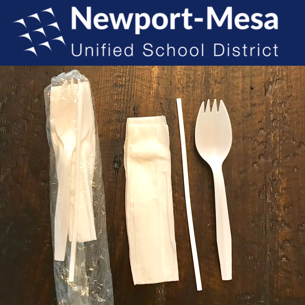 Plastic Lunch Cutlery Packet