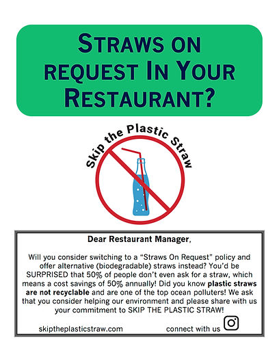 Restaurant flyer to print and give to restuarant manager
