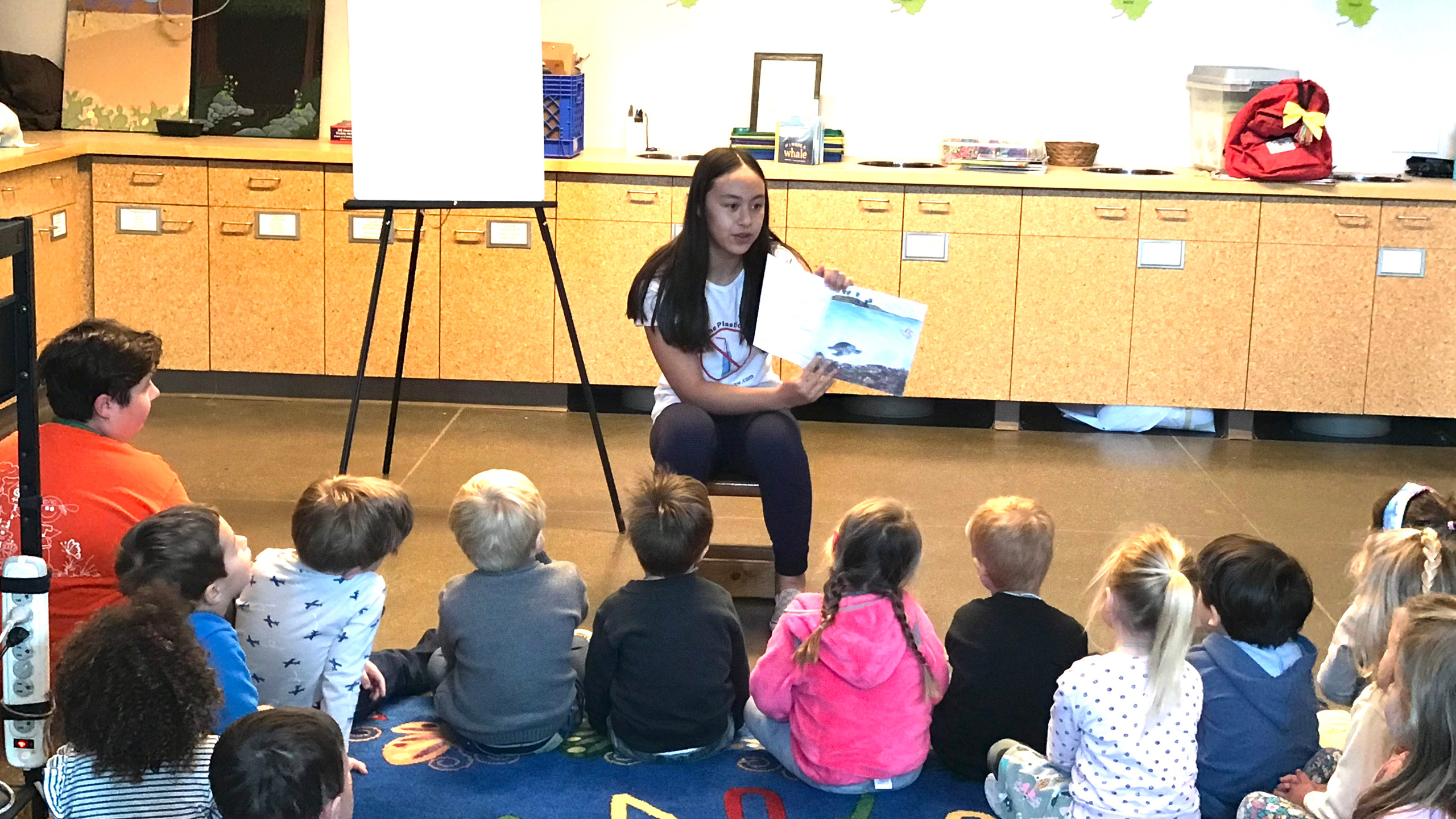 Reading to the Little Naturalists!