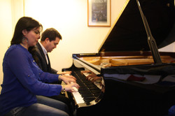 Priscila Vergara y Mario Cervantes