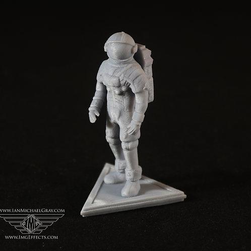 Miniature Astronaut Figurine Collectable Figure Unpainted