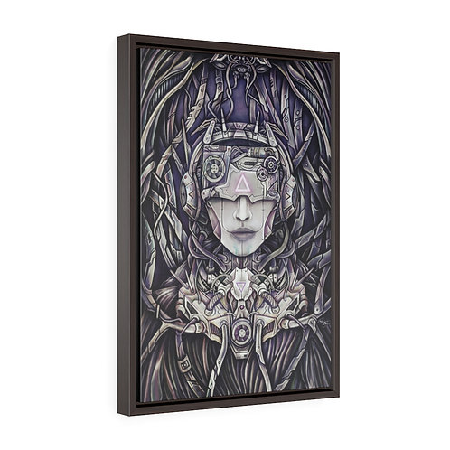 Cyborg Framed Gallery Wrap Canvas Print Reproduction by Ian Michael Gray