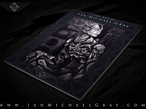 """The Art Of Ian Michael Gray - Art Collection: Book 1"""