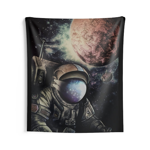 Astronaut Indoor Wall Tapestry Multiple Sizes