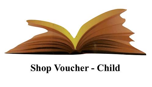 €25 Shop Voucher - Children