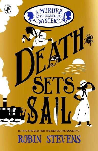 Death Sets Sail - Robin Stevens