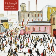 Going to Work L. S. Lowry: 1000-piece Jigsaw Puzzle