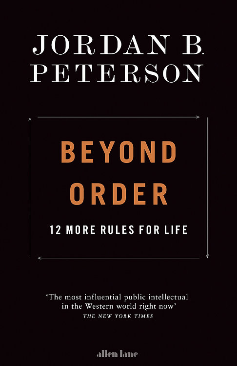 Beyond Order - Jordan B Peterson