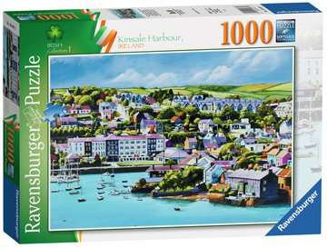 Ravensburger jigsaw - Kinsale Harbour 1000pc