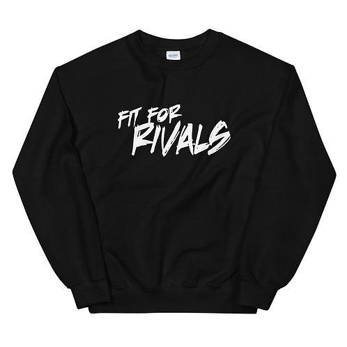 Fit For Rivals Graffiti Black Unisex Sweatshirt