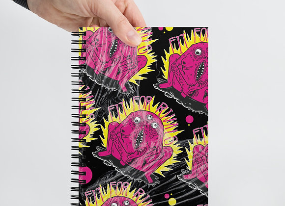 Fit For Rivals Monster Spiral notebook
