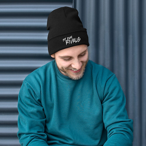 Fit For Rivals Embroidered Beanie