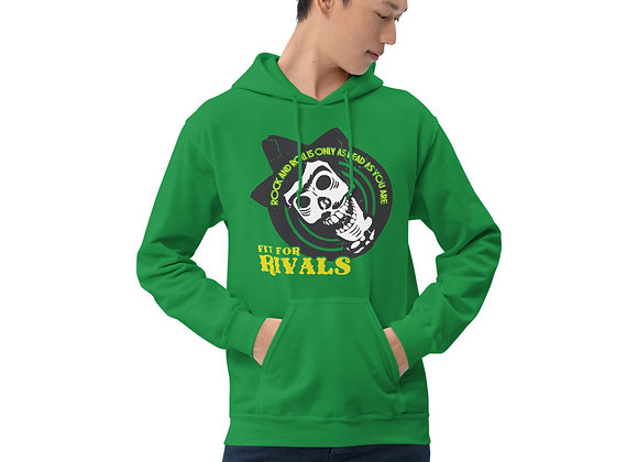 Fit For Rivals Skull Unisex Hoodie