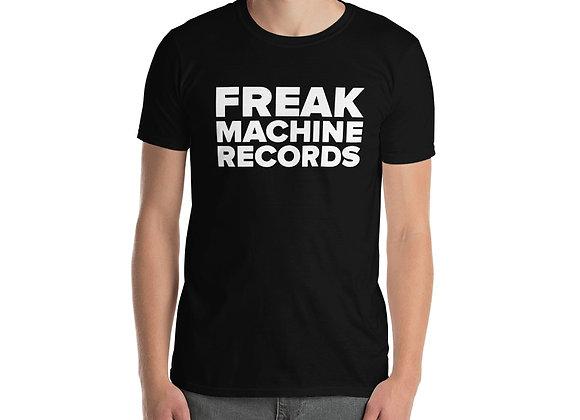 Freak Machine Records Block Logo Unisex T-Shirt
