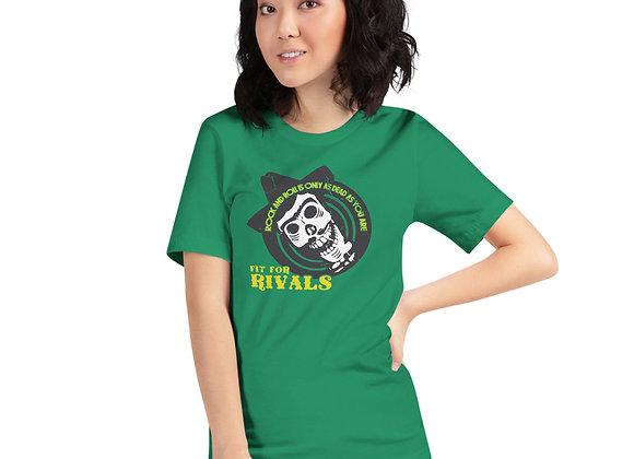 Fit For Rivals Skull Unisex T-Shirt
