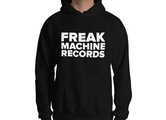 Freak Machine Records Block Logo Unisex Hoodie