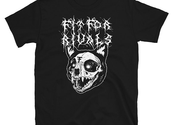 Fit For Rivals Black Metal Unisex T-Shirt